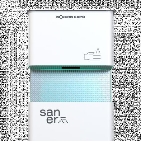 SANITAZERS  (автоматична станція дезінфекції рук)